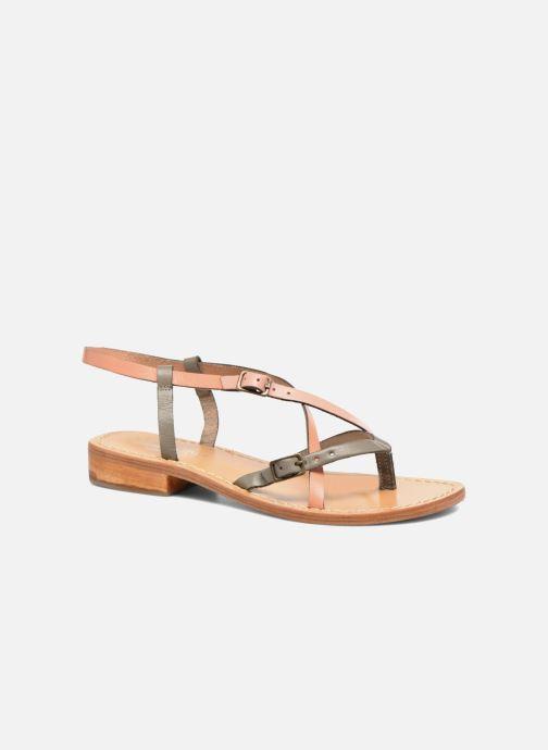 Sandales et nu-pieds Elizabeth Stuart Hop 683 Orange vue détail/paire