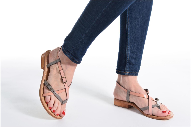 Sandales et nu-pieds Elizabeth Stuart Hop 683 Orange vue bas / vue portée sac