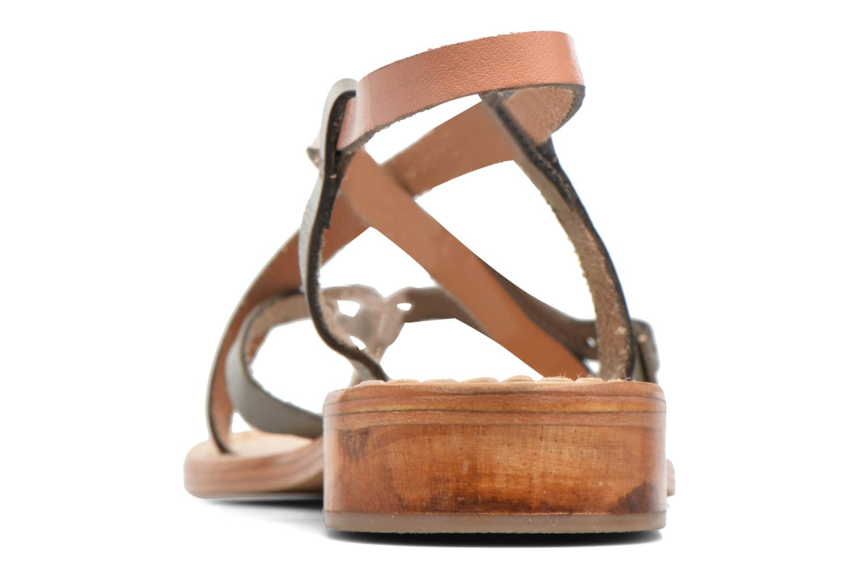 Sandales et nu-pieds Elizabeth Stuart Hop 683 Orange vue droite