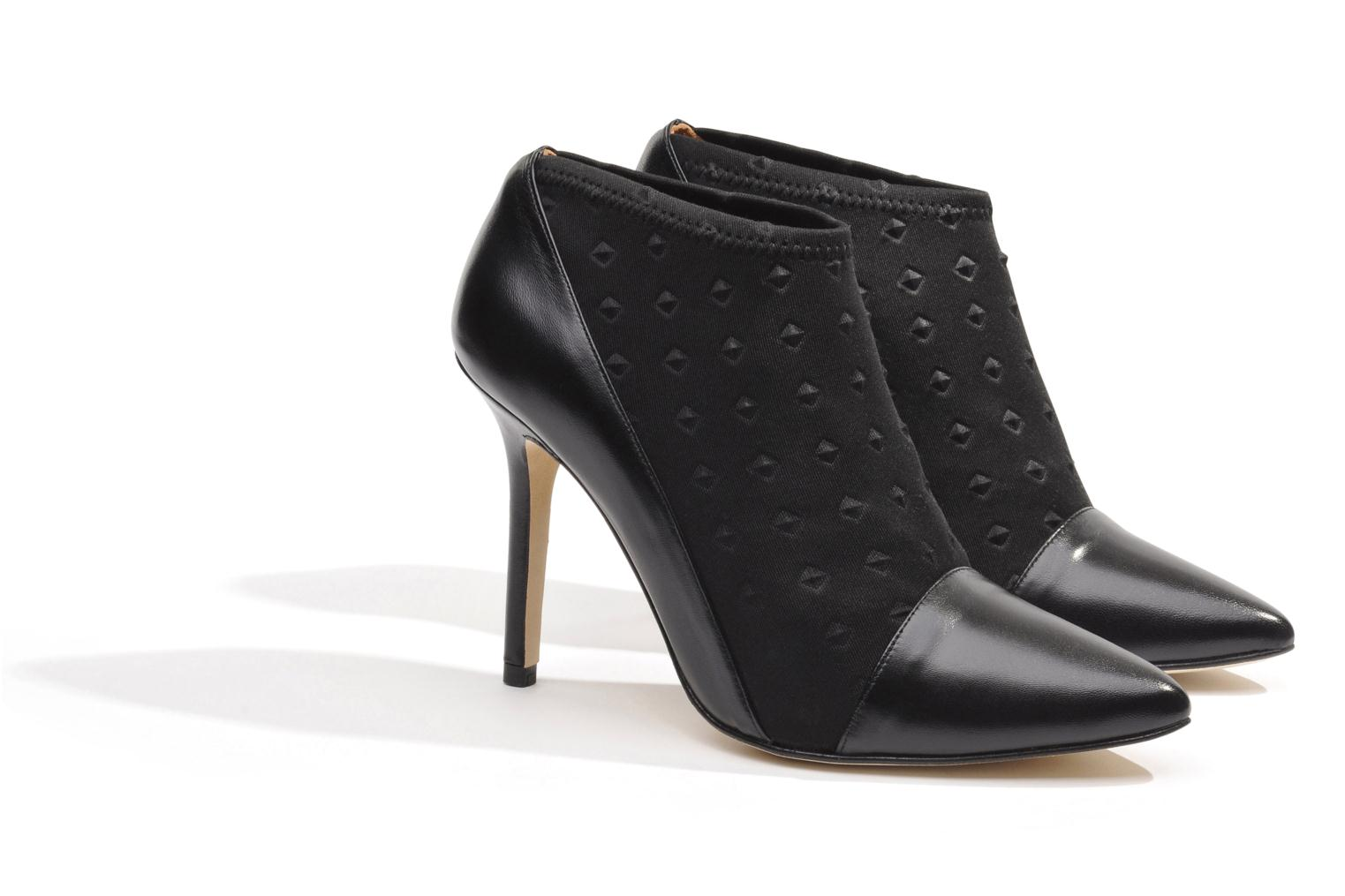 Ankle boots Made by SARENZA Roudoudou #12 Black back view