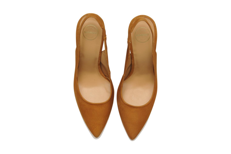 Escarpins Made by SARENZA Bamako #1 Marron vue portées chaussures