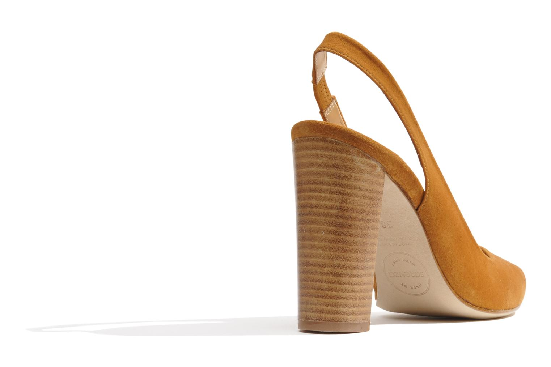 Escarpins Made by SARENZA Bamako #1 Marron vue face