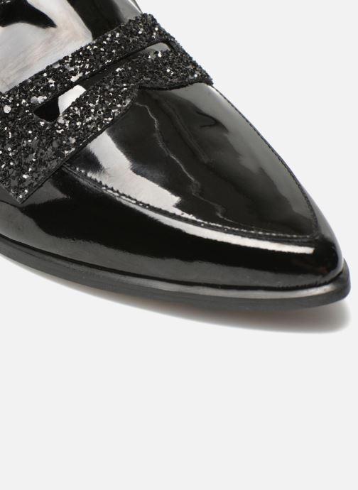 Slipper Made by SARENZA Busy Girl Mocassin #1 schwarz ansicht von hinten