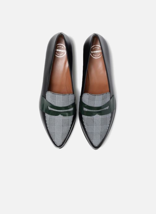 Slipper Made by SARENZA Busy Girl Mocassin #1 schwarz schuhe getragen