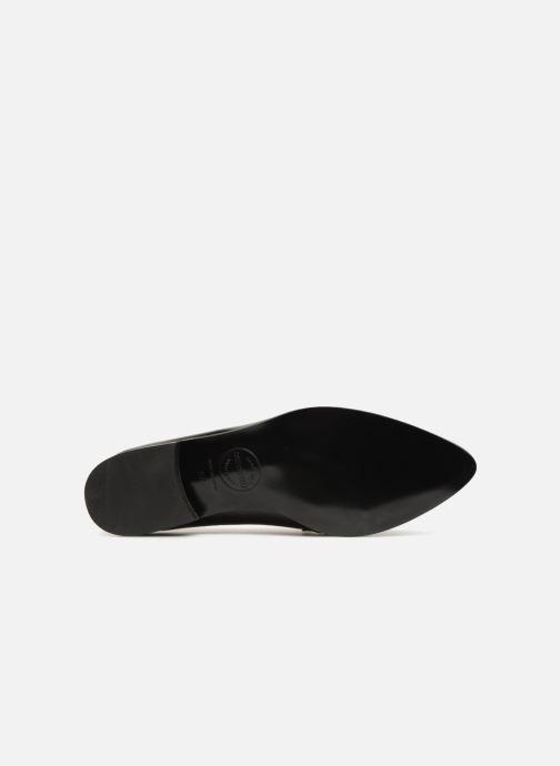 Slipper Made by SARENZA Busy Girl Mocassin #1 schwarz ansicht von oben