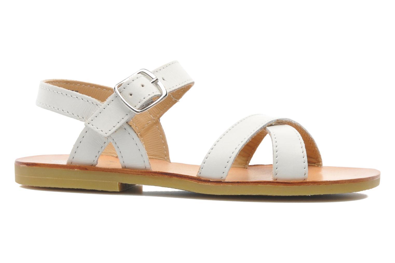 Sandales et nu-pieds Start Rite Nice 2 Blanc vue derrière