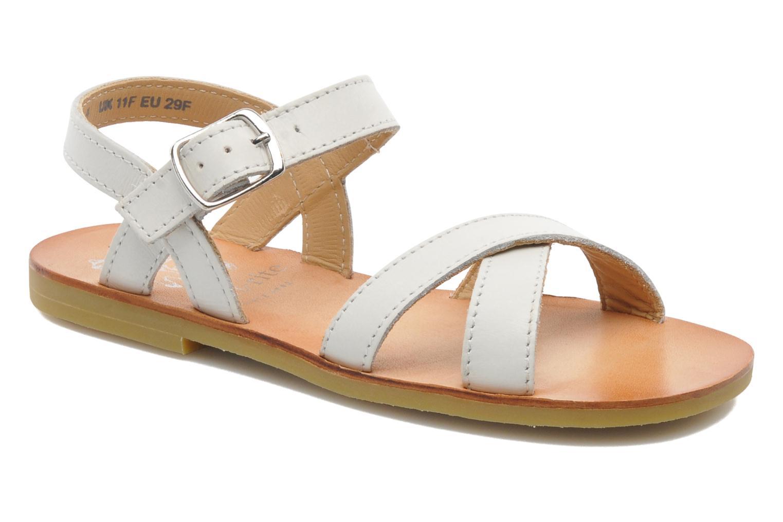 Sandales et nu-pieds Start Rite Nice 2 Blanc vue détail/paire