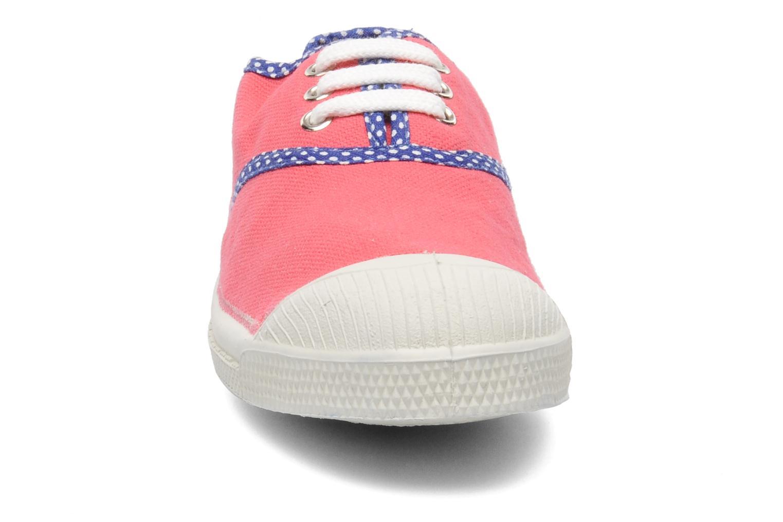 Baskets Bensimon Tennis Colorpois E Rose vue portées chaussures