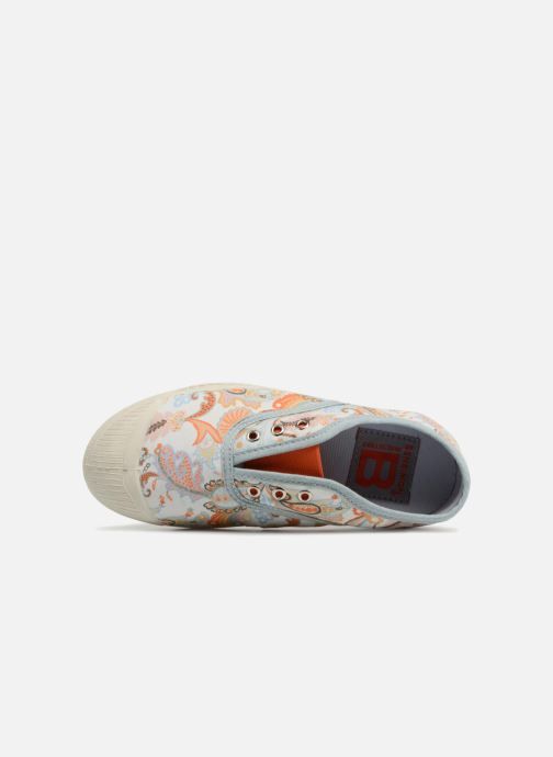 Trainers Bensimon Tennis Elly Liberty E Blue view from the left