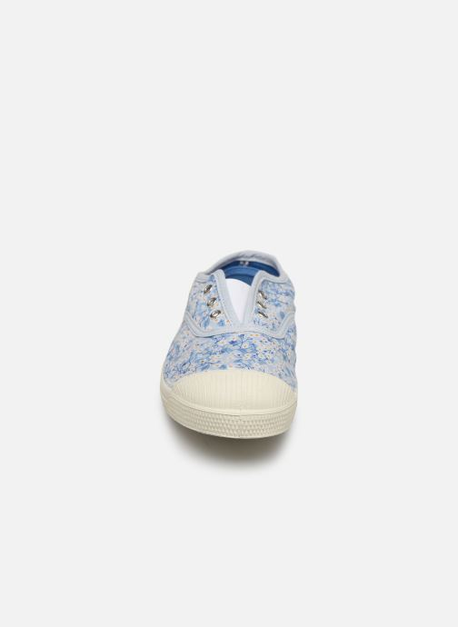 Baskets Bensimon Tennis Elly Liberty E Bleu vue portées chaussures