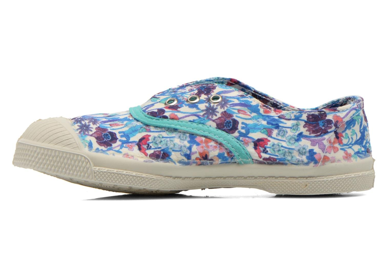 Baskets Bensimon Tennis Elly Liberty E Multicolore vue face