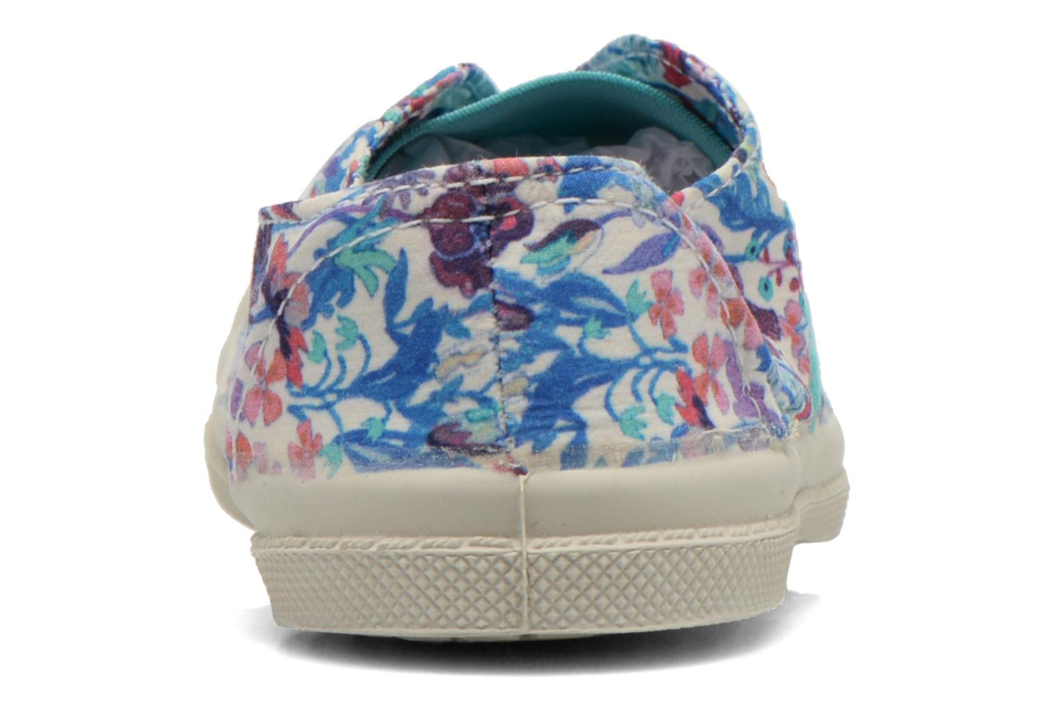 Baskets Bensimon Tennis Elly Liberty E Multicolore vue droite