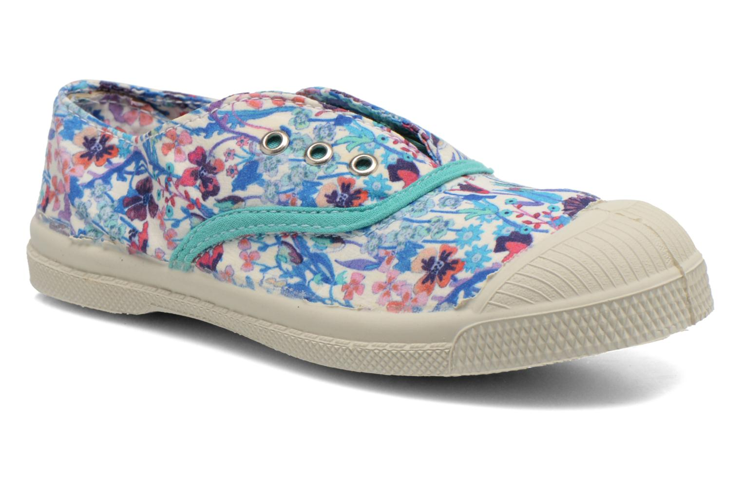 Baskets Bensimon Tennis Elly Liberty E Multicolore vue détail/paire