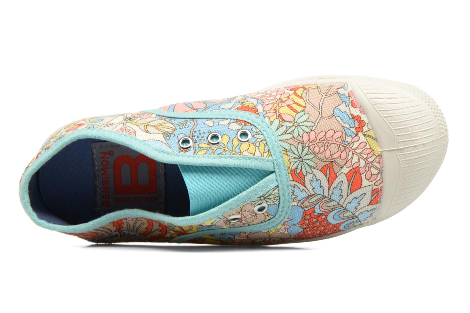 Baskets Bensimon Tennis Elly Liberty E Multicolore vue gauche