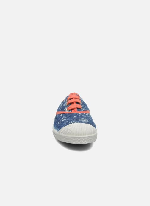 Sneakers Bensimon Tennis Bandanas E Azzurro modello indossato