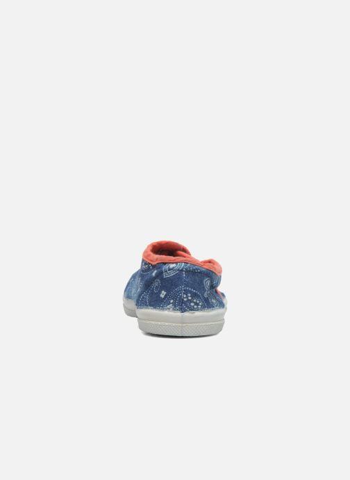 Sneakers Bensimon Tennis Bandanas E Azzurro immagine posteriore