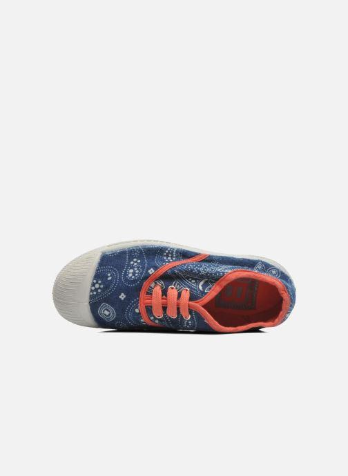 Sneakers Bensimon Tennis Bandanas E Azzurro immagine sinistra