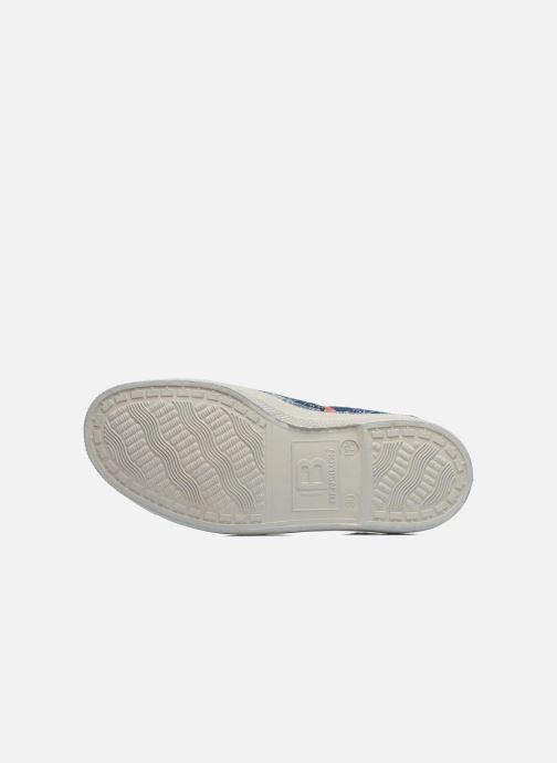 Sneakers Bensimon Tennis Bandanas E Azzurro immagine dall'alto