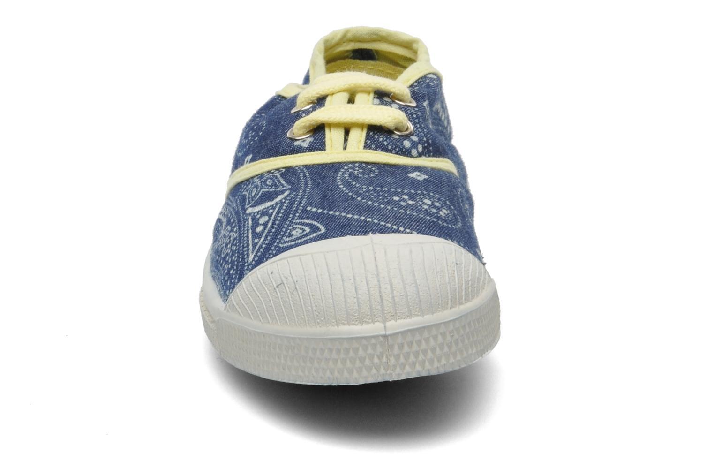 Deportivas Bensimon Tennis Bandanas E Azul vista del modelo