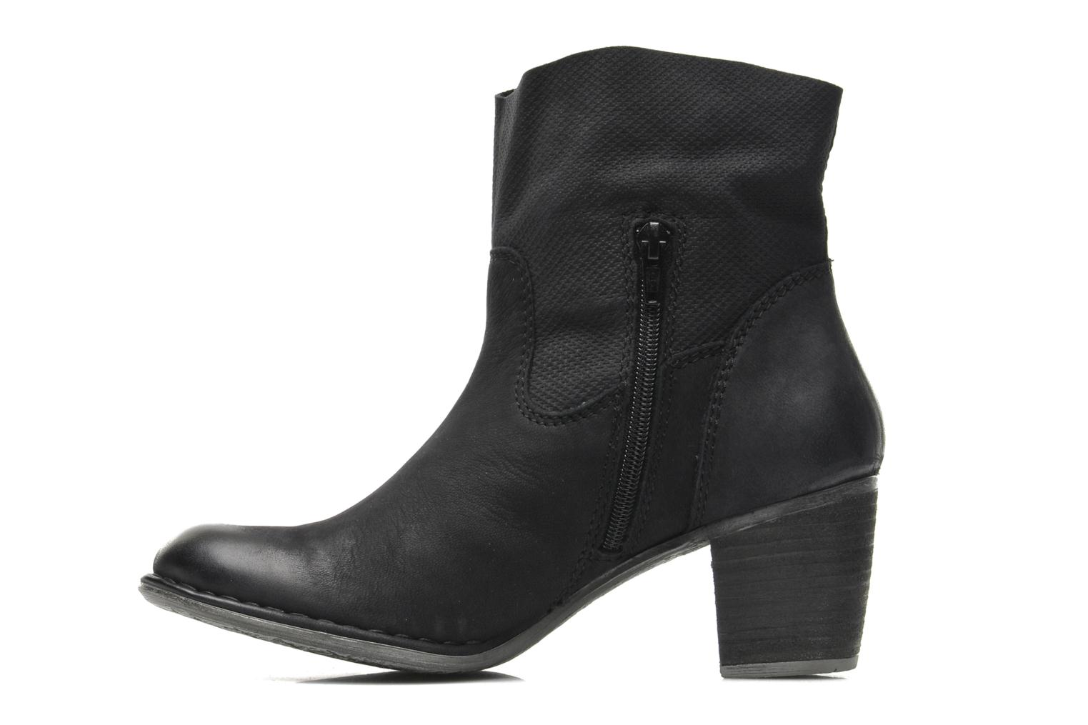 Ankle boots Bugatti V4221-5G Black front view
