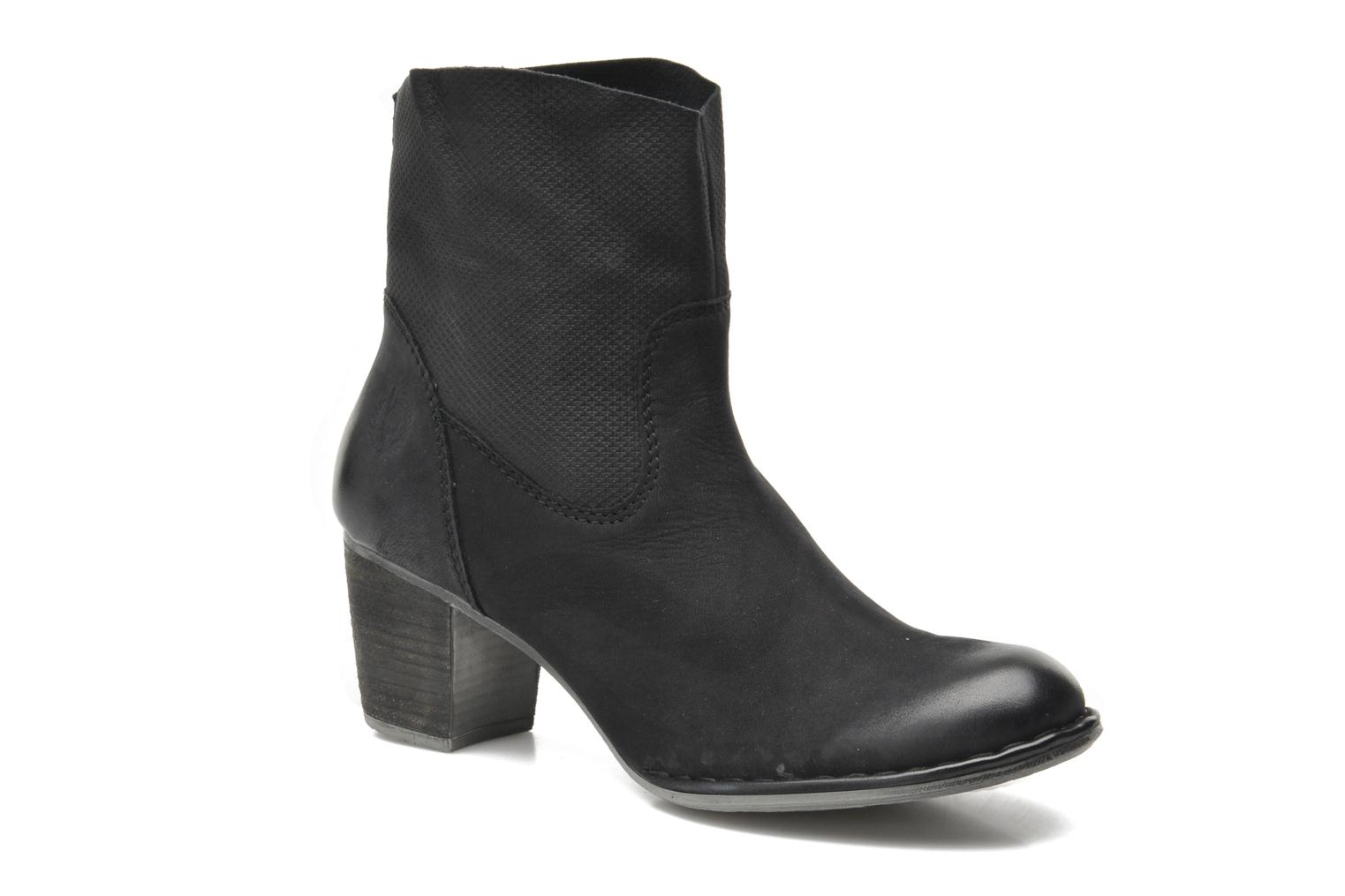 Ankle boots Bugatti V4221-5G Black detailed view/ Pair view