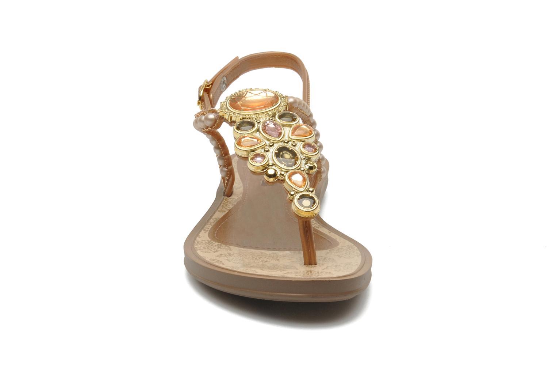 Sandaler Grendha Madreperola Sand Guld og bronze se skoene på