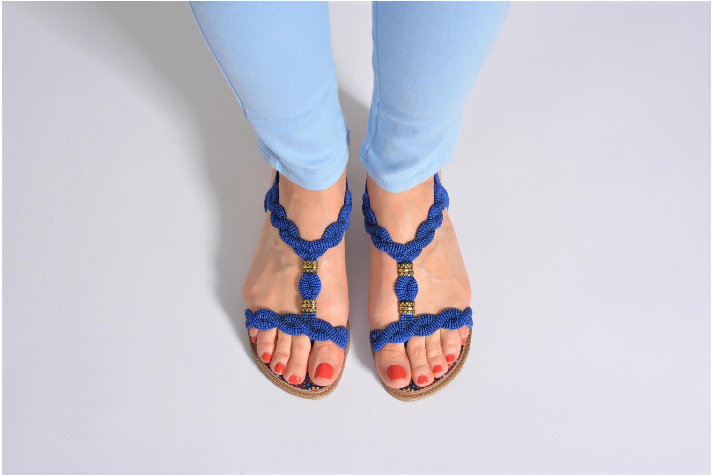 Sandales et nu-pieds Grendha Tribale Sandal Marron vue bas / vue portée sac