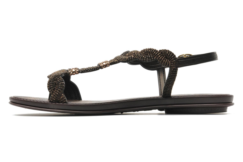 Sandales et nu-pieds Grendha Tribale Sandal Marron vue face