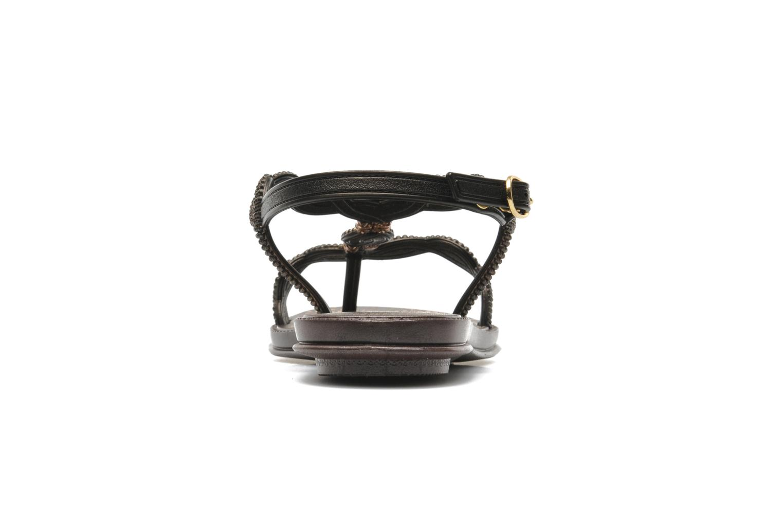 Sandales et nu-pieds Grendha Tribale Sandal Marron vue droite