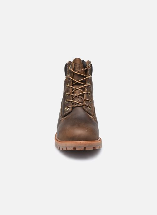 Botines  Timberland Authentic 6in WP Boot Marrón vista del modelo