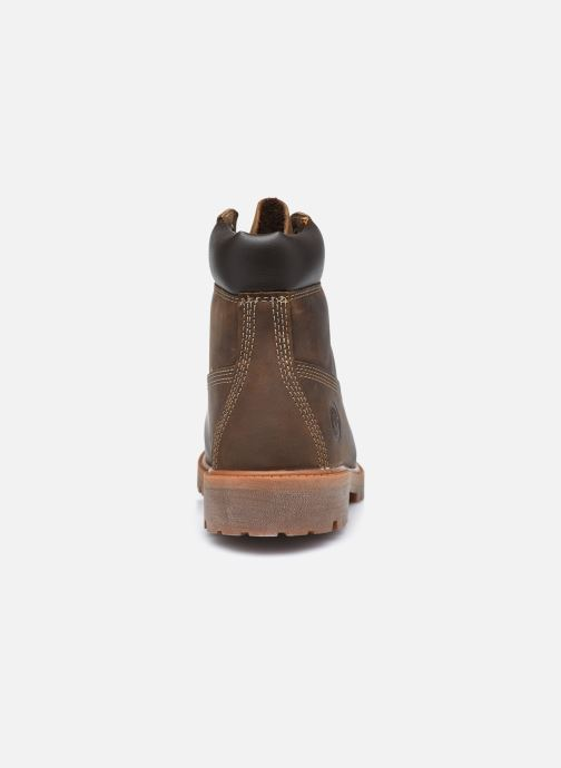 Botines  Timberland Authentic 6in WP Boot Marrón vista lateral derecha