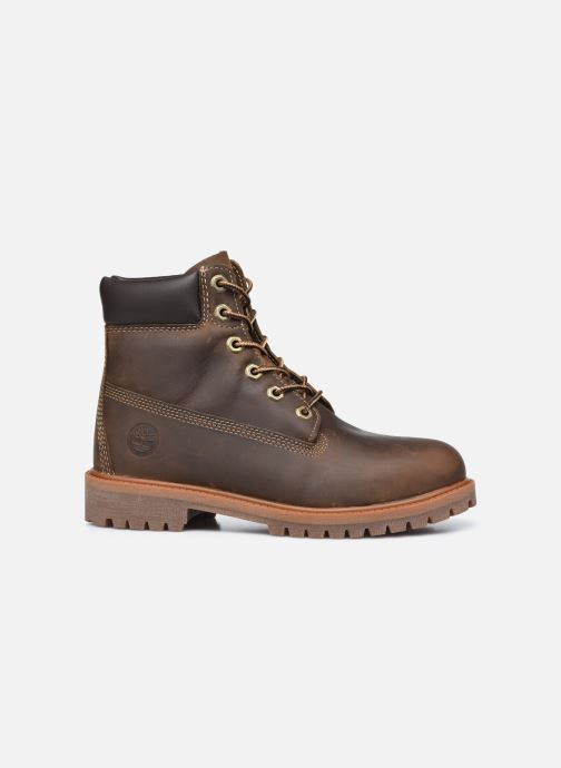 Botines  Timberland Authentic 6in WP Boot Marrón vistra trasera