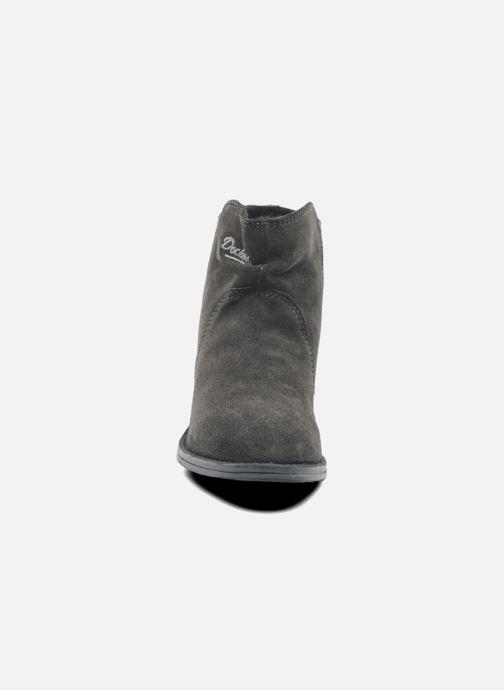 Bottines et boots Dockers Tamila Noir vue portées chaussures