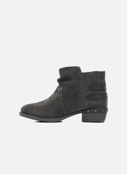 Bottines et boots Dockers Tamila Noir vue face