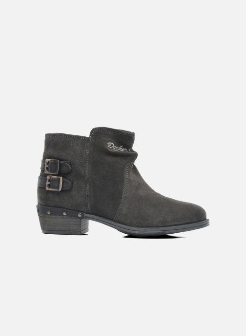 Bottines et boots Dockers Tamila Noir vue derrière