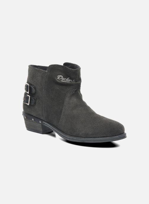 Bottines et boots Dockers Tamila Noir vue détail/paire