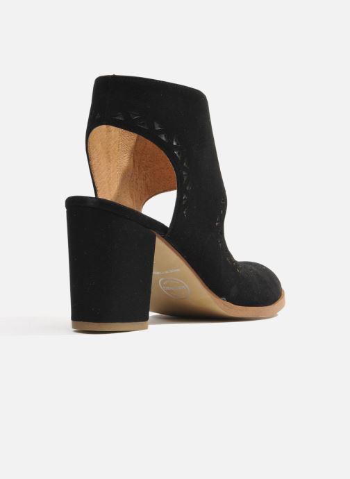Bottines et boots Made by SARENZA Bamako #4 Noir vue face