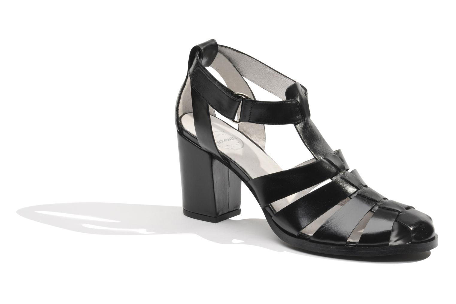 Sandals Made by SARENZA Menthe Hello #2 Black view from the right