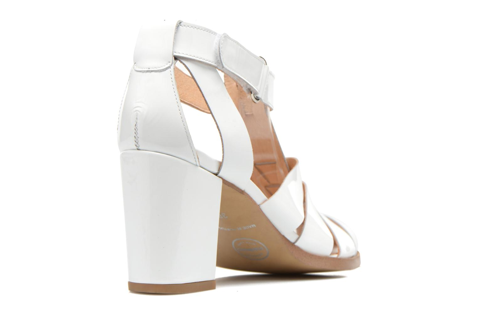 Sandals Made by SARENZA Menthe Hello #2 White front view