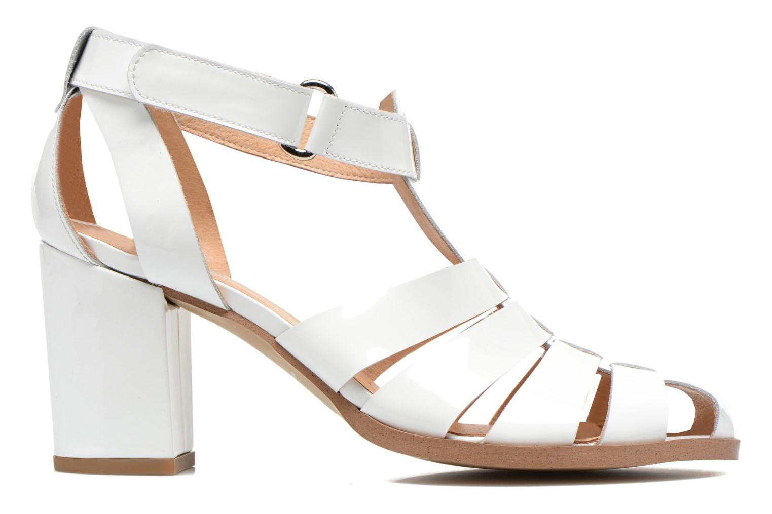 Sandals Made by SARENZA Menthe Hello #2 White detailed view/ Pair view