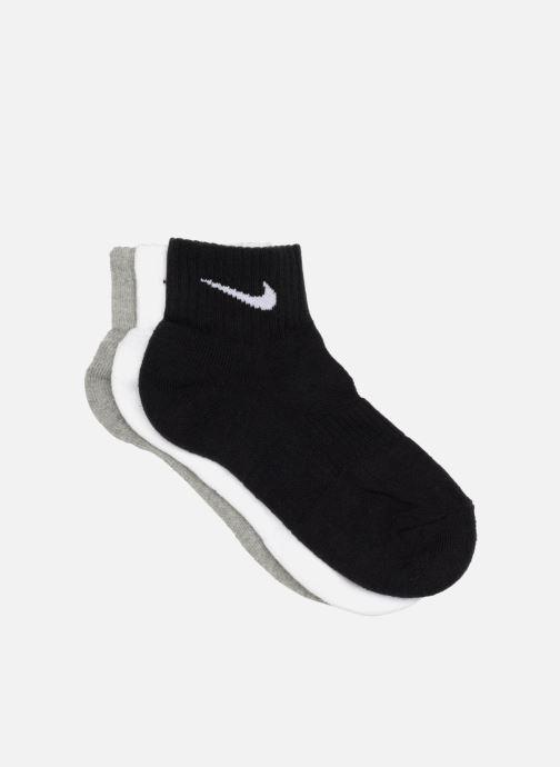908567d2 Strømper og tights Nike (3 par) Nike Cotton Quarter strømper Sort  detaljeret billede af