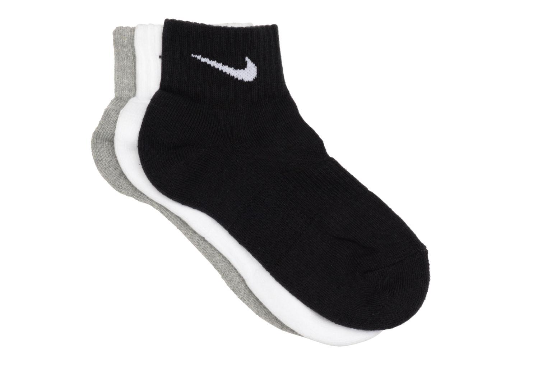 Chaussettes et collants Nike Chaussettes Nike Cushion Quarter  3PR Noir vue détail/paire
