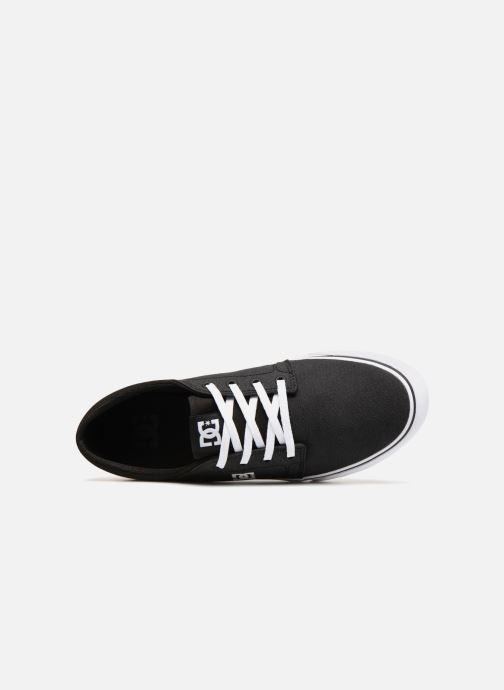 Baskets DC Shoes TRASE TX SE Noir vue gauche