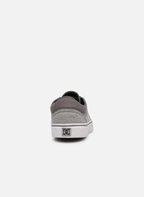 Baskets DC Shoes TRASE TX SE Gris vue droite