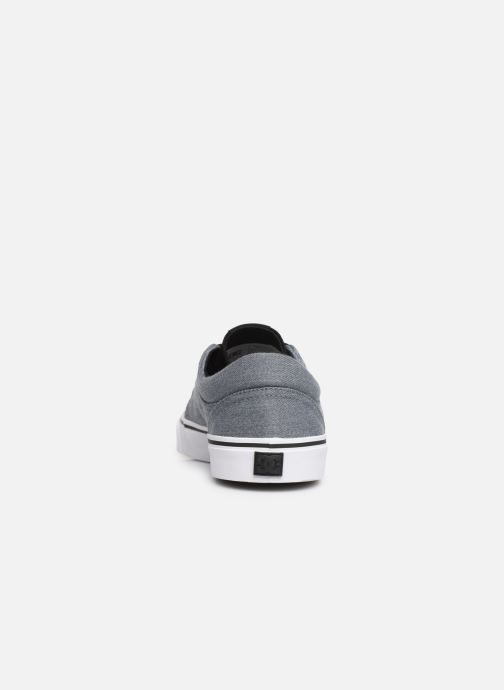 Sneaker DC Shoes TRASE TX SE grau ansicht von rechts
