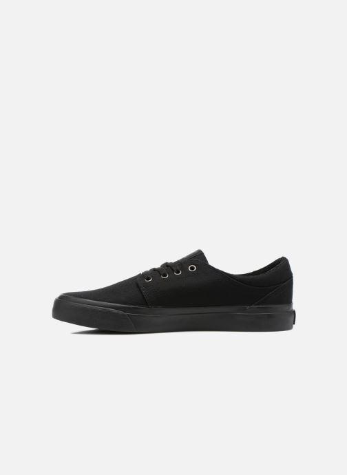 Sneakers DC Shoes Trase Tx Zwart voorkant