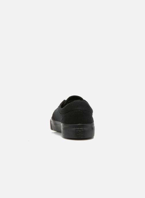 Sneakers DC Shoes Trase Tx Nero immagine destra