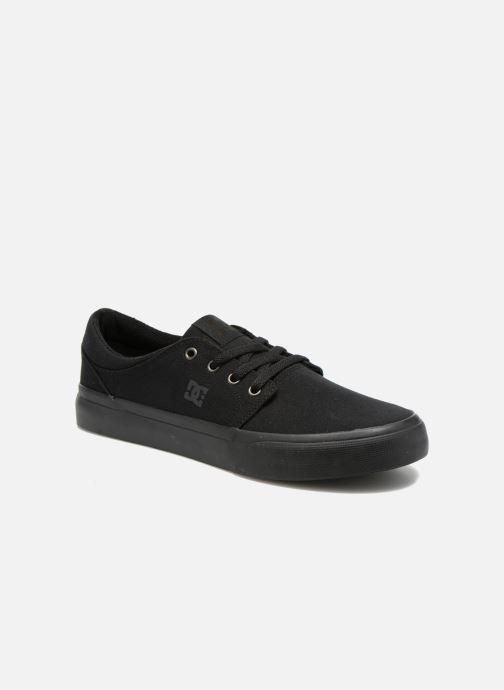 Baskets DC Shoes Trase Tx Noir vue détail/paire