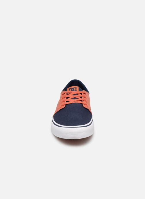 Baskets DC Shoes Trase Tx Orange vue portées chaussures