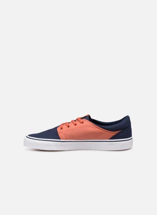 Baskets DC Shoes Trase Tx Orange vue face